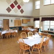 Evergreens Dining Area